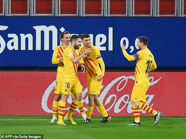 Messi ghi dấu ấn, Barcelona bám sát đội đầu bảng Atletico - 2