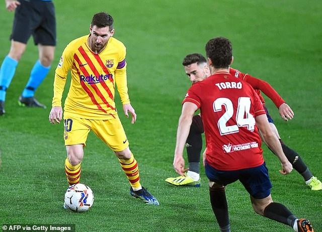 Messi ghi dấu ấn, Barcelona bám sát đội đầu bảng Atletico - 4