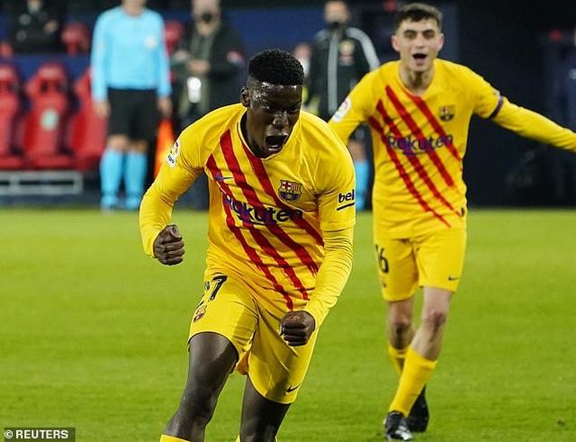 Messi ghi dấu ấn, Barcelona bám sát đội đầu bảng Atletico - 3