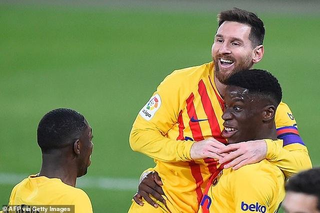 Messi ghi dấu ấn, Barcelona bám sát đội đầu bảng Atletico - 5