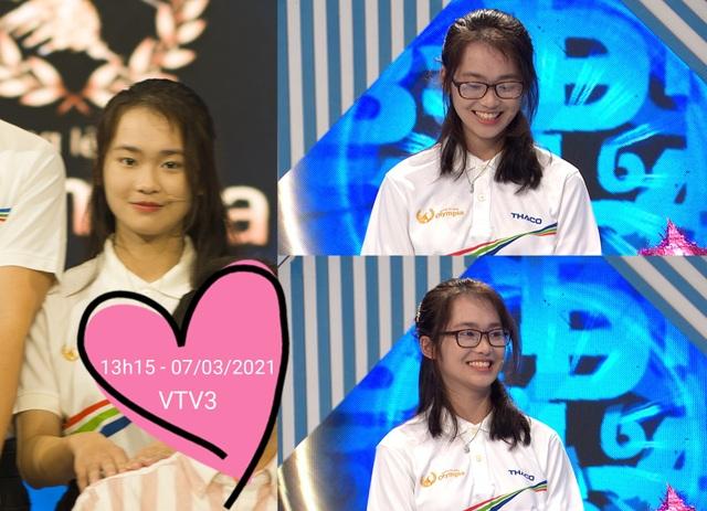 Nữ sinh cùng trường với Siêu trí tuệ Hà Việt Hoàng gây sốt Olympia - 3