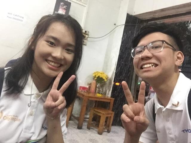 Nữ sinh cùng trường với Siêu trí tuệ Hà Việt Hoàng gây sốt Olympia - 9