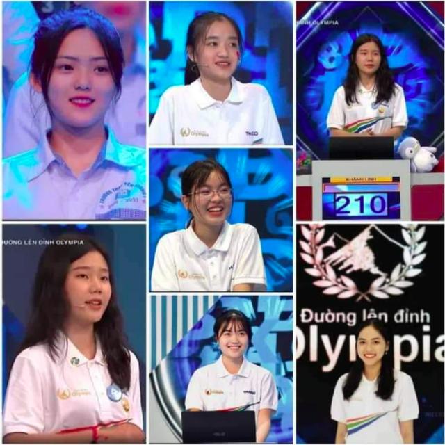 Nữ sinh cùng trường với Siêu trí tuệ Hà Việt Hoàng gây sốt Olympia - 11
