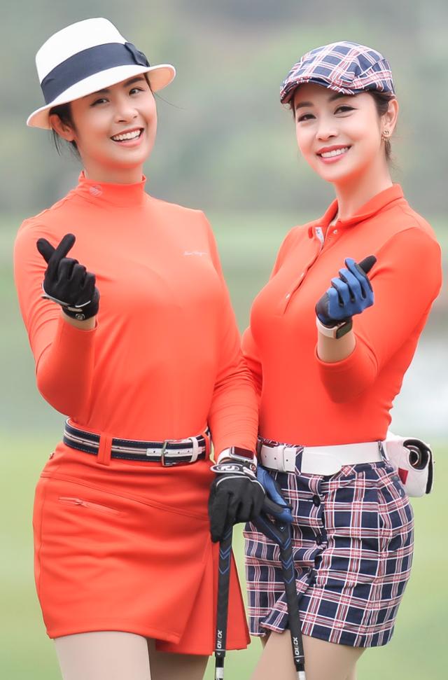 Hoa hậu Ngọc Hân rạng rỡ bên Hoa hậu Jennifer Phạm - 4