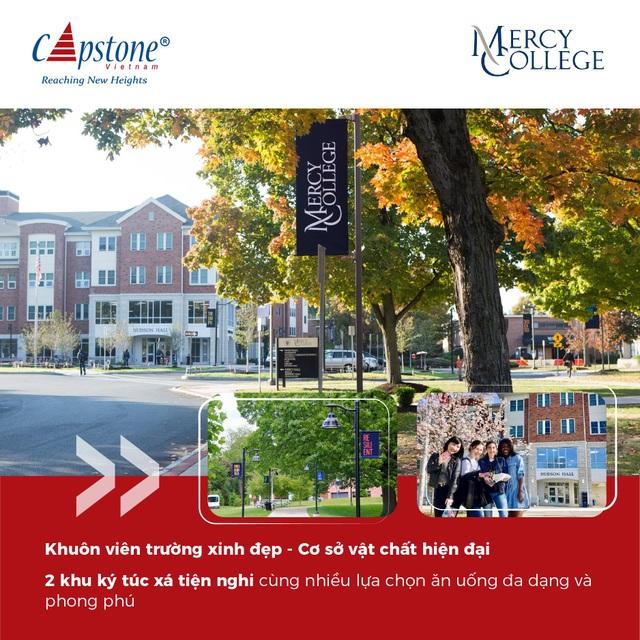 Mercy College - vị trí tuyệt vời cùng chi phí hợp lý nhất tại thành phố New York - 2