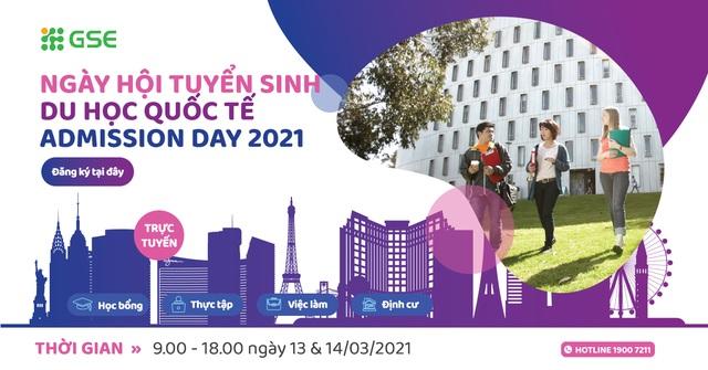 Phỏng vấn ngay học bổng lên tới 100% học phí tại Ngày hội Tuyển sinh Du học Quốc tế 2021 - 1