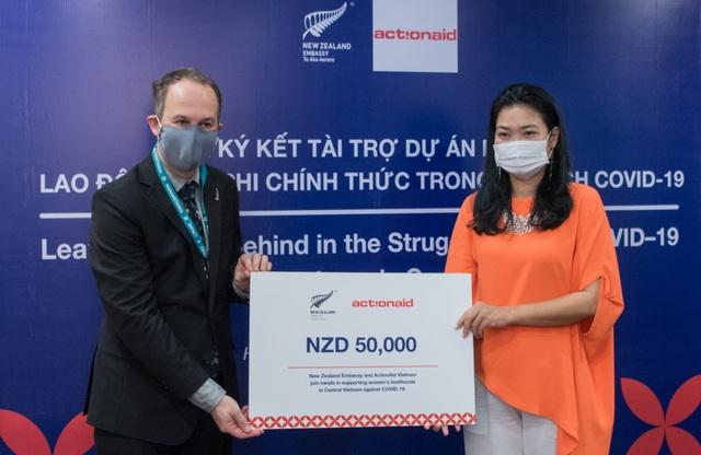 New Zealand hỗ trợ gần 800 triệu đồng cho lao động nữ tại Huế và Đà Nẵng - 1