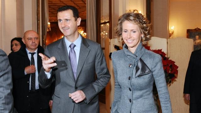 Vợ chồng Tổng thống Syria mắc Covid-19 - 1