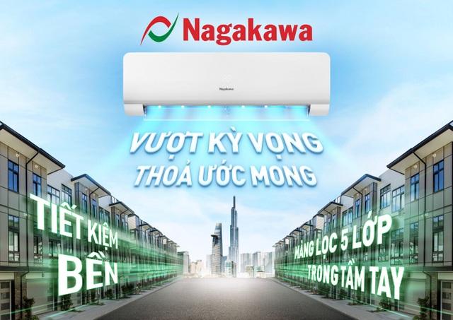 Điều hòa Nagakawa chính thức có mặt tại hệ thống Điện Máy Xanh - 1