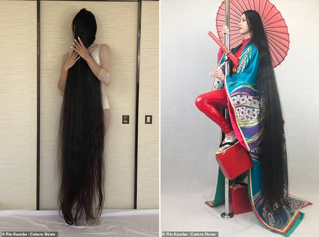 Cô gái 15 năm không cắt tóc - 3