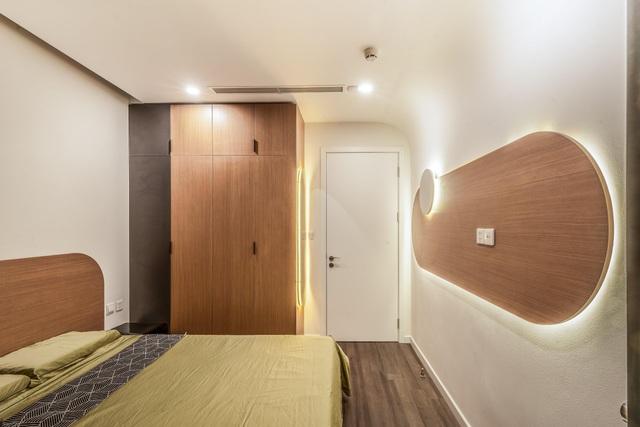 Choáng ngợp với không gian mới sau khi đập thông 2 căn chung cư làm 1 - 12