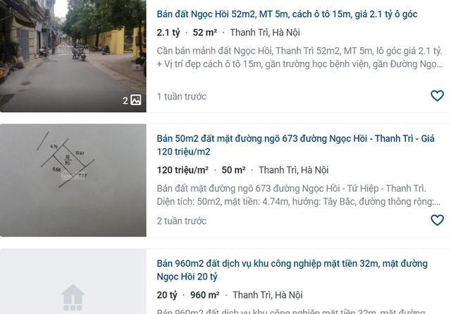 Giá đất nhảy múa ở khu vực ven đô Hà Nội: Sốt đất ở miệng cò? - 2