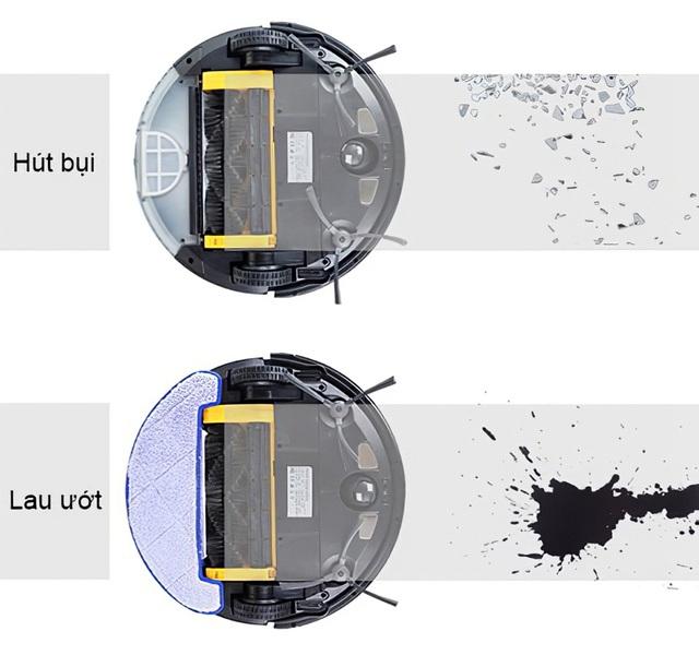 Robot hút bụi lau nhà đáng gờm nhất 2021: Ultty SKJ RB01X! - 3