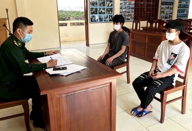 Phát hiện 2 người vượt biên trái phép từ Lào về Quảng Nam - 1