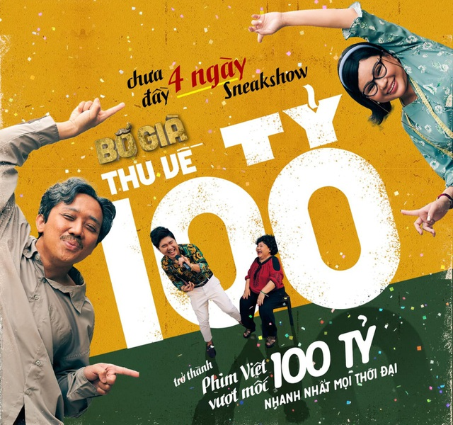 Phim Bố già của Trấn Thành phá kỷ lục các doanh thu phòng vé phim Việt - 1