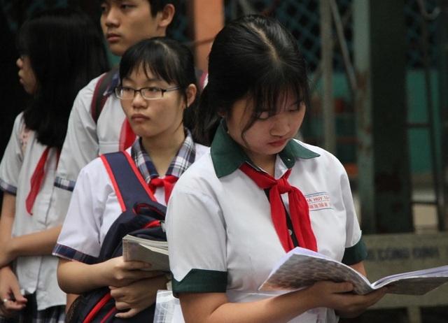 TPHCM đề xuất Toán, Văn tính hệ số 1 như Ngoại ngữ trong thi lớp 10 - 1