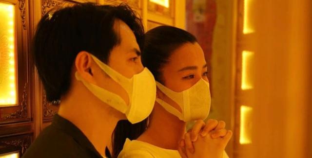 Đặng Thu Thảo, Đông Nhi, Vũ Thu Phương… đến viếng Minh Lộc tại chùa - 2