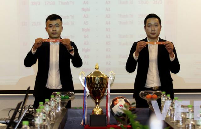 Bốc thăm xếp lịch thi đấu giải bóng đá nữ Vô địch U19 Quốc gia 2021 - 2