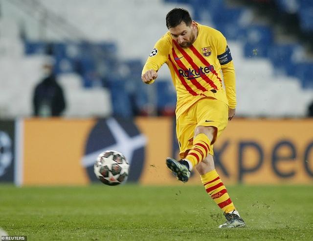 PSG 1-1 Barcelona: Messi ghi bàn và đá hỏng phạt đền - 2