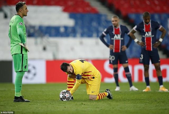 PSG 1-1 Barcelona: Messi ghi bàn và đá hỏng phạt đền - 8