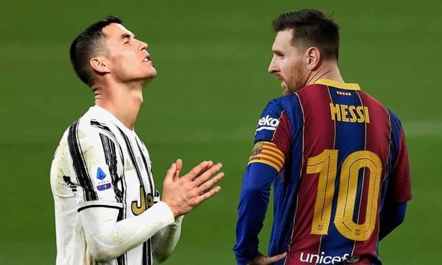 C.Ronaldo, Messi bị loại sớm ở Champions League: Dấu chấm hết cho kỷ nguyên - 1