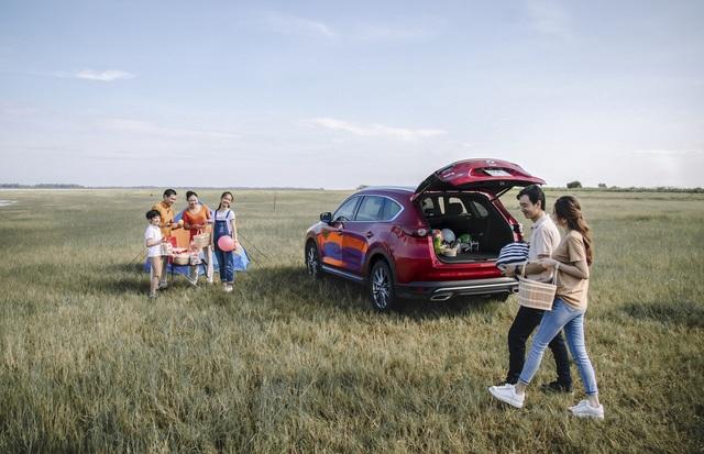 Mazda CX-8 Deluxe gia tăng sức nóng trong phân khúc SUV 7 chỗ - 3