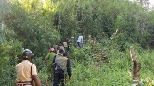 Bắt được đối tượng chém 4 người trọng thương rồi bỏ trốn vào rừng - 1