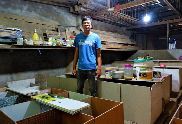 Chàng sinh viên kiếm chục triệu đồng mỗi tháng từ trại dúi 30m2 - 1