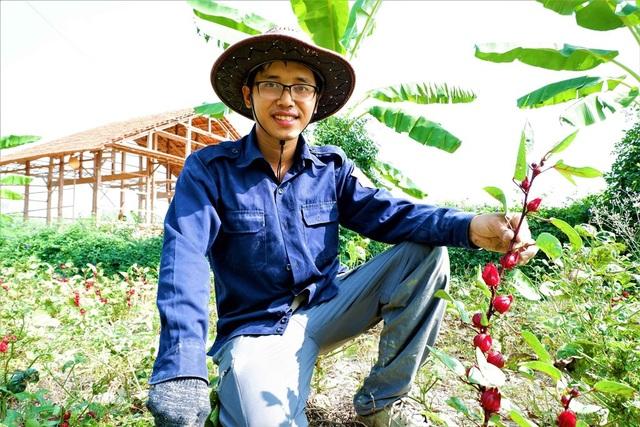 Chàng trai trẻ biến đất khô cằn thành nông trại dược liệu - 1