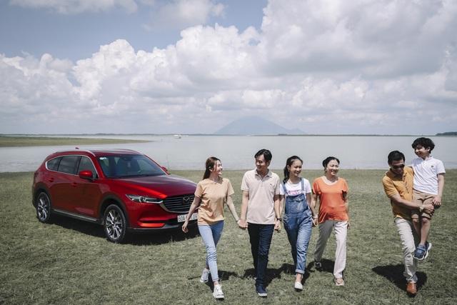 Mazda CX-8 Deluxe gia tăng sức nóng trong phân khúc SUV 7 chỗ - 2