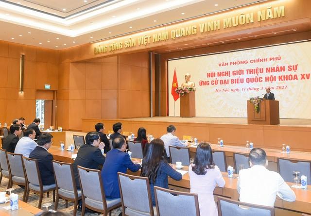 Thủ tướng Nguyễn Xuân Phúc được giới thiệu ứng cử đại biểu Quốc hội - 2