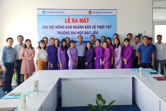 Sinh viên Đại học Bạc Liêu lập Chi hội Nông dân ngay trong trường học - 3