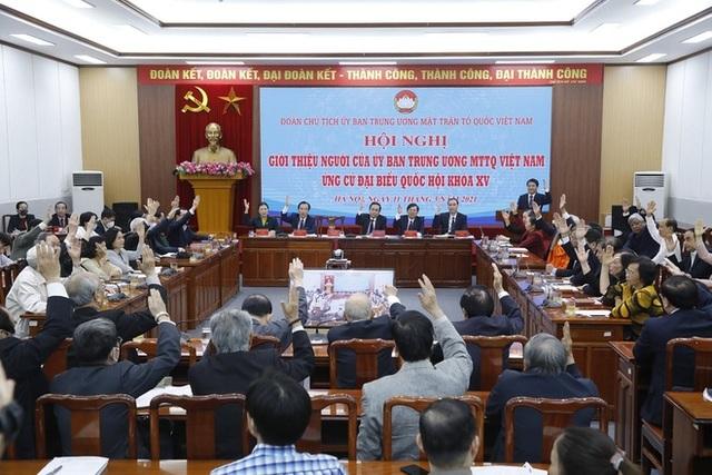 86 người được giới thiệu ứng cử đại biểu Quốc hội chuyên trách ở Trung ương - 2