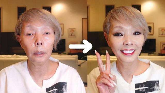 Video hóa trang thành thiếu nữ của Youtuber 68 tuổi gây sốt mạng xã hội - 1