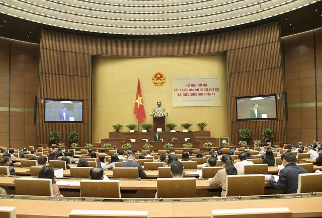 86 người được giới thiệu ứng cử đại biểu Quốc hội chuyên trách ở Trung ương - 1