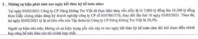 Bamboo Airways không còn là công ty con của FLC? - 2