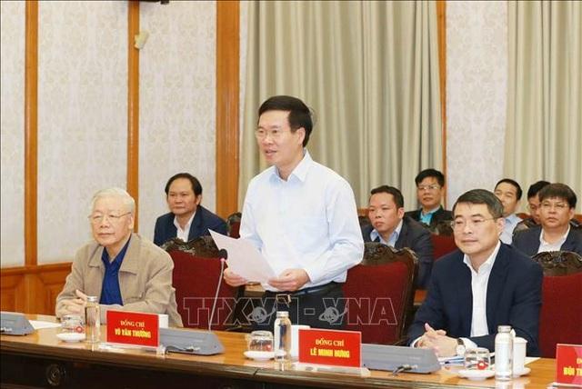 Tổng Bí thư, Chủ tịch nước được giới thiệu ứng cử đại biểu Quốc hội - 2