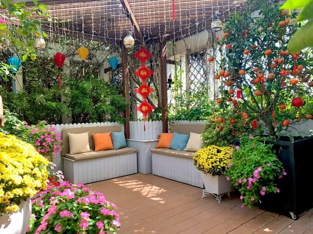Khu vườn trên không trăm loại rau trái tươi tốt của mẹ đảm Sài Gòn - 2