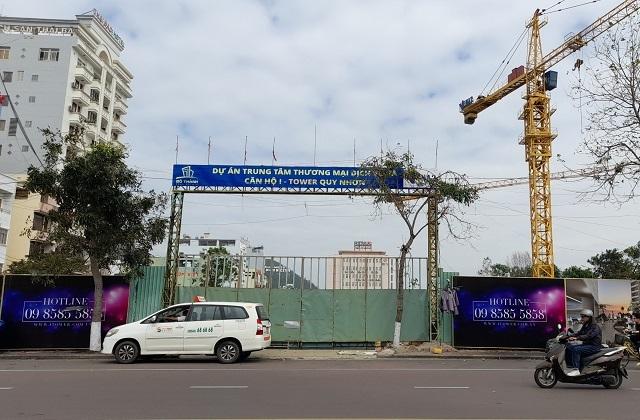 Dự án I-Tower Quy Nhơn xây dựng không phép trên đất vàng - 1