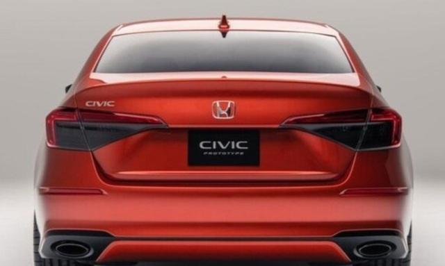 Rò rỉ hình ảnh Honda Civic 2022 bản sản xuất thực tế - 5