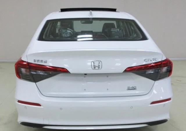 Rò rỉ hình ảnh Honda Civic 2022 bản sản xuất thực tế - 4