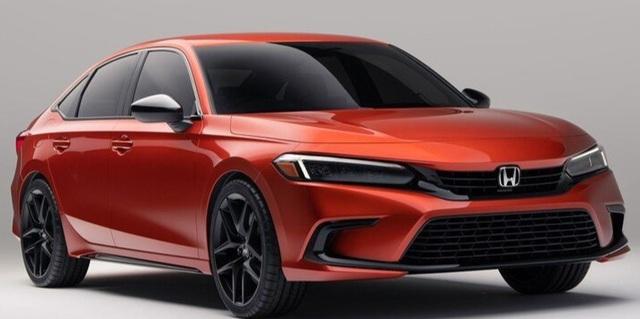 Rò rỉ hình ảnh Honda Civic 2022 bản sản xuất thực tế - 2