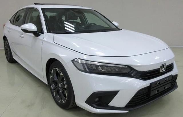 Rò rỉ hình ảnh Honda Civic 2022 bản sản xuất thực tế - 1