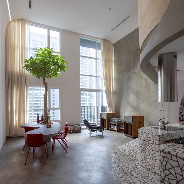 Căn hộ đẹp lạ, đậm hơi thở kiến trúc tân thời giữa lòng Sài Gòn - 2