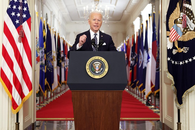 Tổng thống Biden tuyên bố: Nước Mỹ có thể trở lại bình thường vào tháng 7 - 1