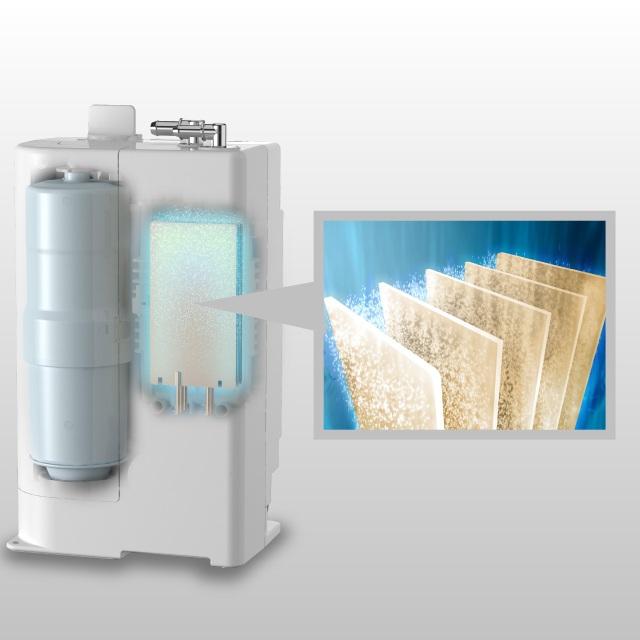 Mê mẩn máy lọc nước ion kiềm Panasonic mới thiết kế thời thượng độc đáo - 3