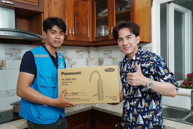 Mê mẩn máy lọc nước ion kiềm Panasonic mới thiết kế thời thượng độc đáo - 4