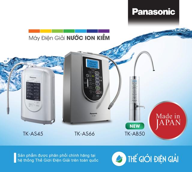 Mê mẩn máy lọc nước ion kiềm Panasonic mới thiết kế thời thượng độc đáo - 5