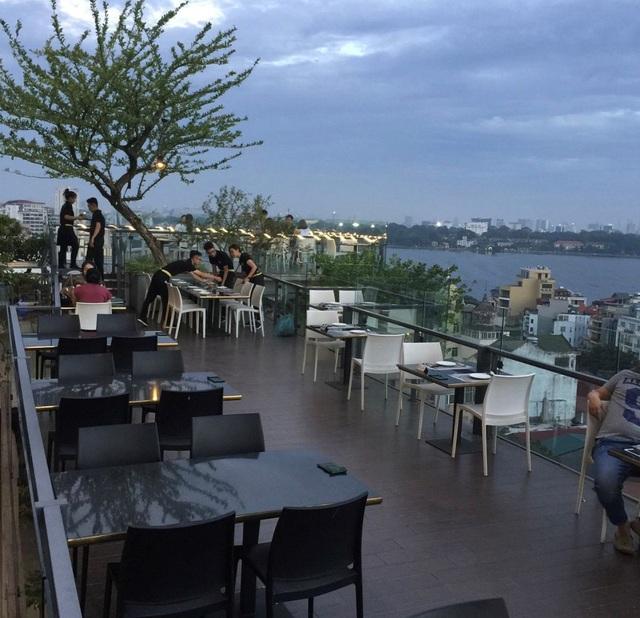 5 quán cà phê trên cao view cực chất cho cuối tuần lãng mạn tại Hà Nội - 4