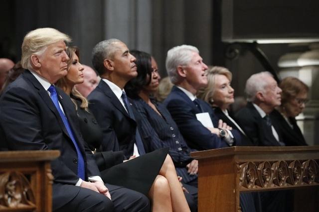 Ông Trump tách khỏi câu lạc bộ cựu tổng thống, nhắc người Mỹ nhớ công lao - 1